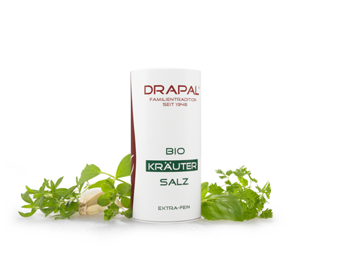 DRAPAL ® Organic Herb Salt. Taste enhance your cuisine